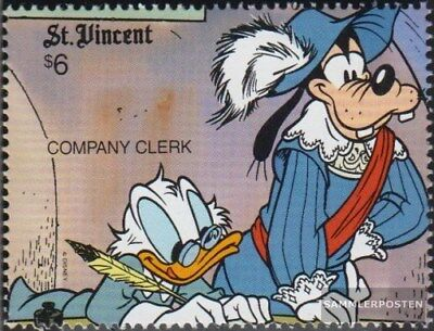 St. Vincent 1526 (complete issue) unmounted mint / never hinged 1990 Walt-Disney