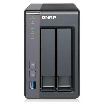 Qnap TS-251+ 2-Bay Personal Cloud Tower NAS, 2GB RAM #TS-251+-2G-US