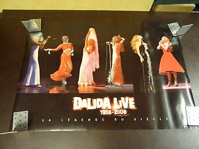 Rolled Poster Dalida (+- 80 X 55 Cm)