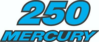 MERCURY 250 HP outboard  Replacement Decal
