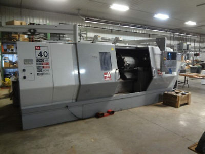"Sl-40B Haas ""big-Bore Long Bed"" Cnc Turning Center - #28108"