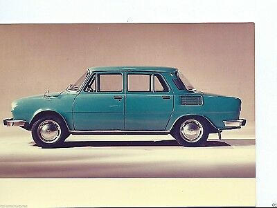 Skoda 110 Original Colour Press Photograph Circa 1971 Excellent Condition