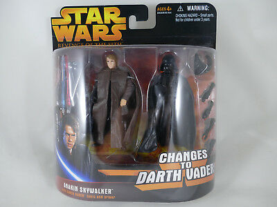 Star Wars Rots Anakin Skywalker Changes To Darth Vader Deluxe Figures Moc
