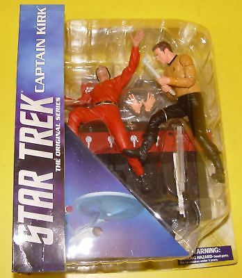 Star Trek Diamond Select Toys - Captain Kirk & Khan (mit leichten Lagerspuren)