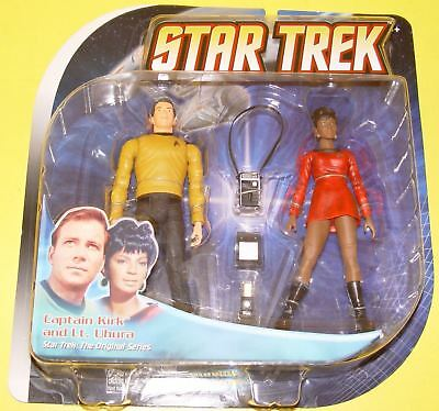 Star Trek Diamond Select Toys - Classic Captain Kirk & Lt. Uhura #17810