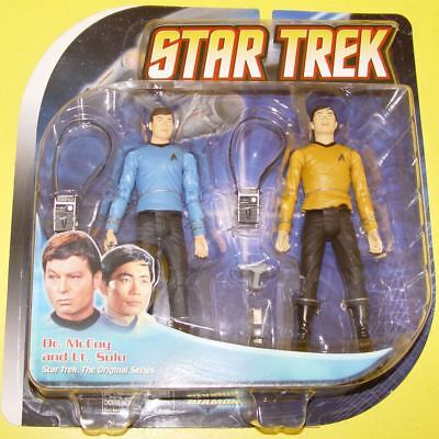 Star Trek Diamond Select Toys - Classic Dr. McCoy & Lt. Sulu #17812