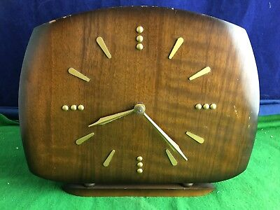 Antique 1960's Smiths Chiming Braille Mantle Clock St. Dunstans USC RD8762