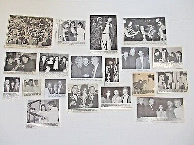 DONNY & MARIE OSMOND original magazine clippings LOT of 19 rare 1970's - 1980's
