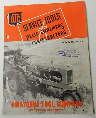 Allis Chalmers Agriculture Advertising Collectibles