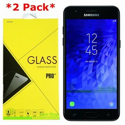 2Pack Tempered Glass Screen Protector For Samsung Galaxy J3 V/Achieve/Star 2018