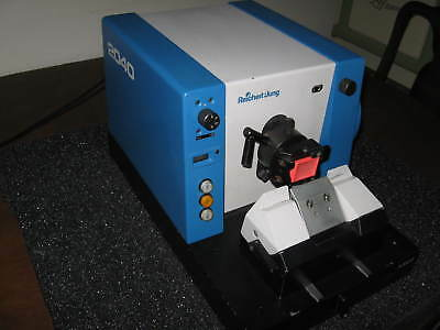 Reichert Jung (Leica) 2040 Motorized Biocut Microtome with knifeholder