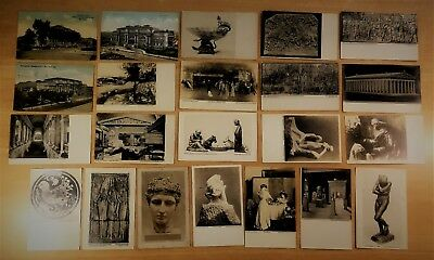 Lot of 22 Vintage Postcards ALL METROPOLITAN MUSEUM OF ART New York City 1914-45