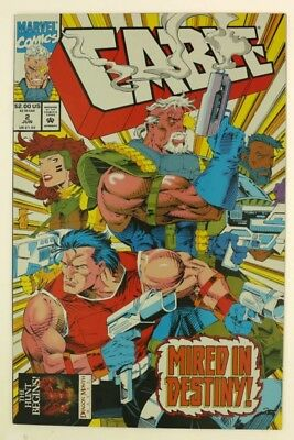ESZ6678. CABLE #2 From Marvel Comics 9.4 NM (1993) Thibert Art and Cover (M)