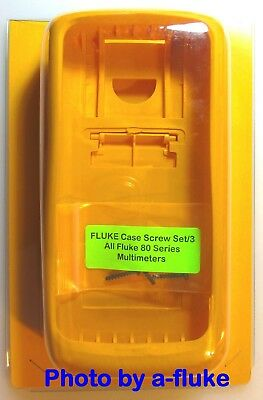 New Genuine FLUKE H80-E Yellow Impact Case 83 85 86 87 88 787 Series 1, lll & V