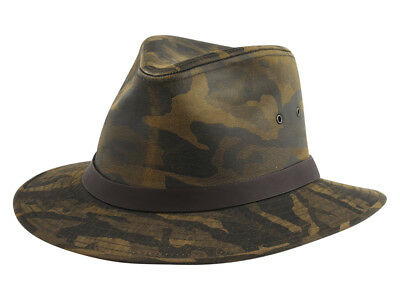 80f3229506524 BROWN LEATHER SAFARI Hat 1174-10-xx -  43.99