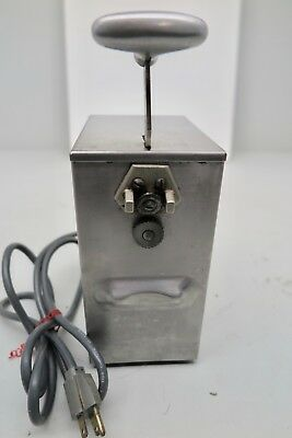 Edlund 203 two Speed tabletop Commercial Kitchen SS Electric Can Opener 115v