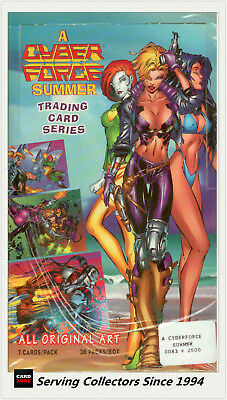 Australia Dynamic Cyber Force Summer Trading Card Loose packs unit of 36 packs