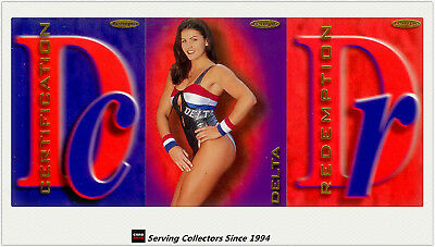 Australia The Gladiators (Tempo) Cards Unsigned Redemption Card-Delta(No257)