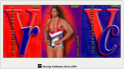 Australia The Gladiators (Tempo) Cards Unsigned Redemption Card-Vulcan(No120)