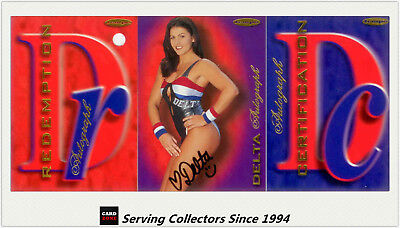 Australia The Gladiators(Tempo) Cards Siganture Redemption Card-Delta (060)