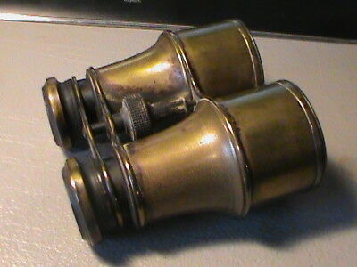 "Vintage ""The Clyde"" Brass Binoculars Nautical"