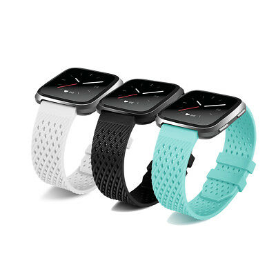 TPU Silicone Replacement Band Bracelet For Fitbit Versa Wristbands Accessories