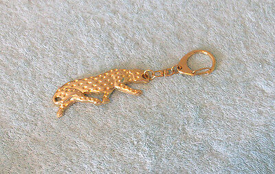 Vintage Leopard Key Chain - Hard to Find!