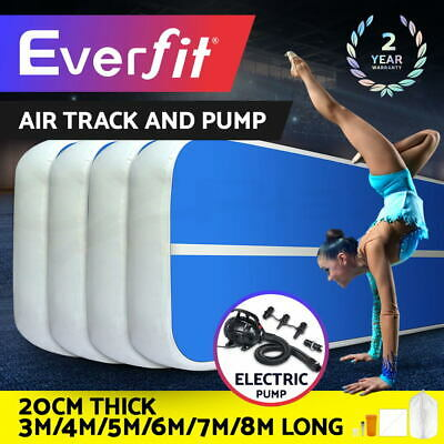 【20%OFF$211】  Air Track 3/4/5/6/7/8M Inflatable Tumbling Mat Airtrack Gymnastics