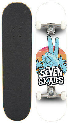 """Seven Complete Skateboards 8.25"""" - Peace Out"""