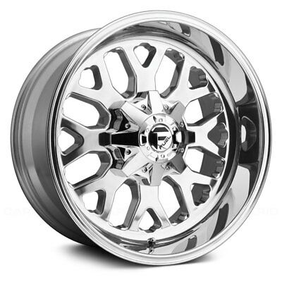 Fuel D586 Titan 1pc Wheels 20x10 18 6x139 7 106 4 Silver Rims