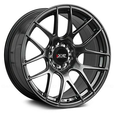 16x8 20 Xxr 530 Chromium Black Concave Rims Wheels 4x114 3 94 97