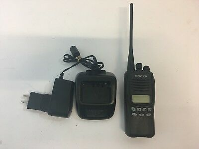 Kenwood TK-2312  5 WATT VHF RADIO Great Condition With KSC-35 Charger Pickup Wel