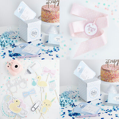 Oh Baby 20 Prediction Cards & Post Box Shower Game Mum To Be Sash Photo Props