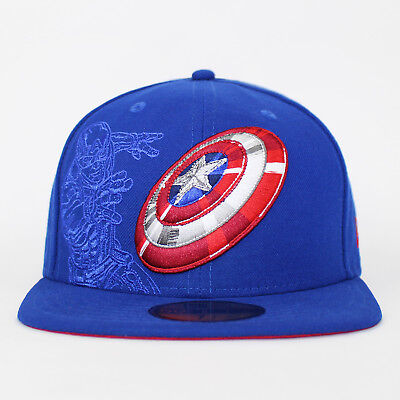 1fc02260e NEW ERA 59FIFTY Captain America Action Fitted The Winter Soldier Baseball  Cap