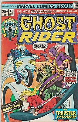 Ghost Rider #13 (Aug 1975, Marvel) 6.5