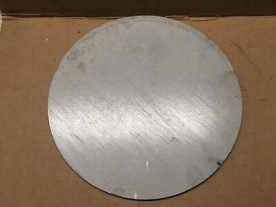 1/4 Inch 304L Stainless Steel Plate,Disc,Cut Out x 7 7/8 Inch Diameter
