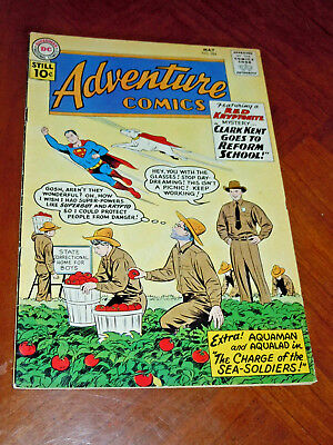 ADVENTURE COMICS #284 (1961) FINE- (5.5) cond. SUPERBOY, AQUAMAN