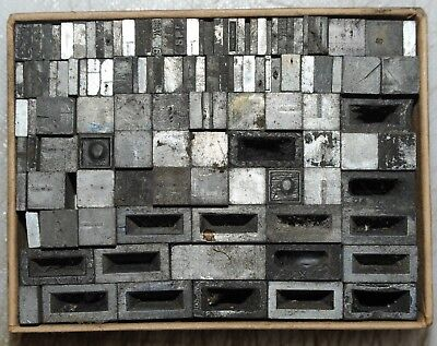 24pt Spacers.. Metal  letterpress Type # ADANA EIGHT FIVE  8 x 5 user