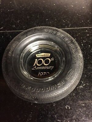 BF Goodrich 100th Anniversary Tire Ashtray, Lifesaver Radial