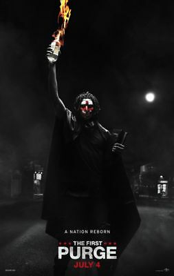 First Purge - original DS movie poster - 27x40 D/S Adv