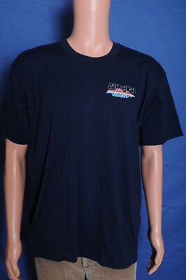 VTG '80s Air Force Aim High Has anyone asked you what you want blue t shirt L