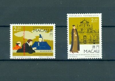 Macau China 1997 400Th Anniversary Death Of Father Luis Frois Mnh Very Fine