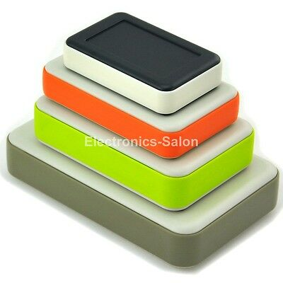 HQ Hand-Held Project Enclosure Box Case, Four Sizes & Four Colors to choose.
