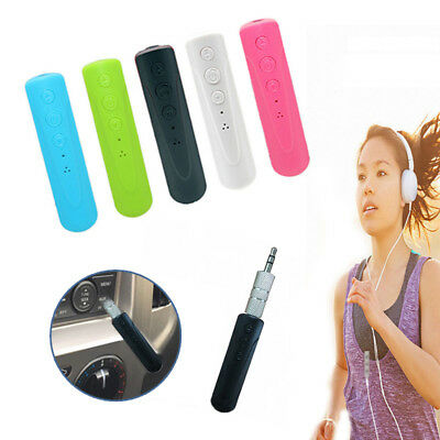 Wireless Bluetooth Phones To 3.5mm AUX Car Stereo Audio Receiver Adapter Lot