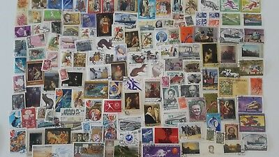 500 Different Russia Stamp Collection