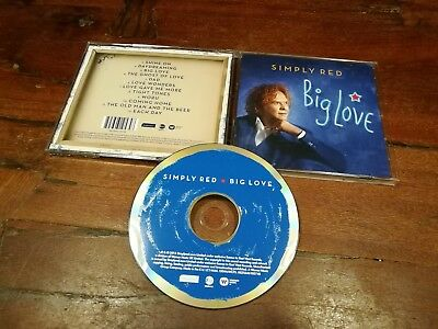 Simply Red - Big Love Cd Mint/Perfetto