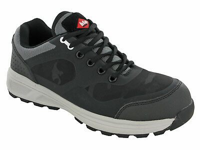 Lee Cooper Safety Trainers Composite Toe S1P Lightweight Metal Free Lace LC-114