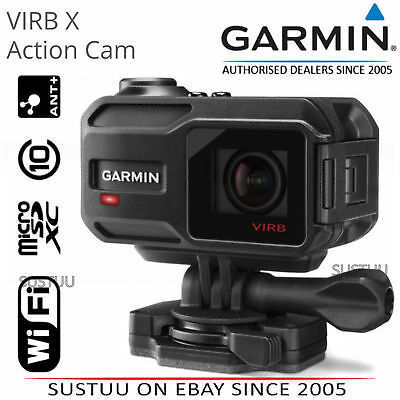 Garmin VIRB X Action Camera│Full HD 1080P│GPS│Waterproof│WiFi│Bluetooth│ANT+