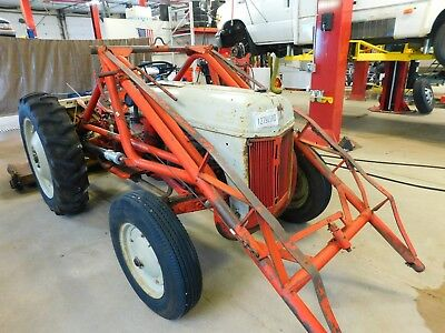 1950 Ford 8N Tractor  T1279286 w/ Woods RM306 mower deck