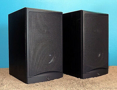2 Infinity Reference 20002 Bookshelf Speakers Excellent Sound Condition